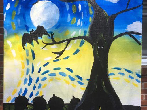 Van Gogh Halloween