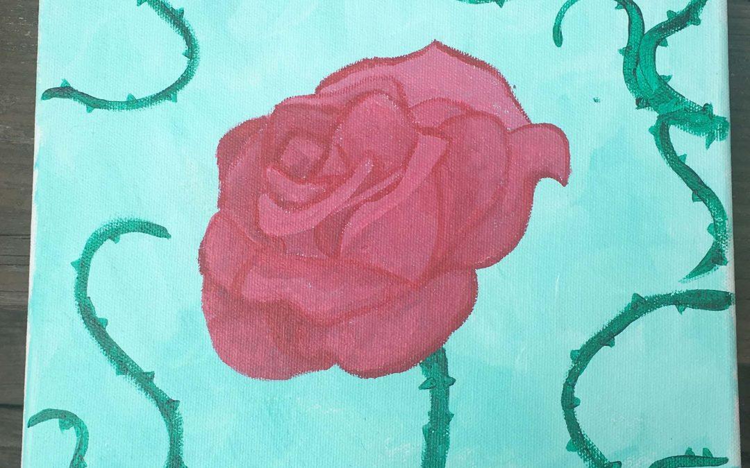 Rose in Thorns